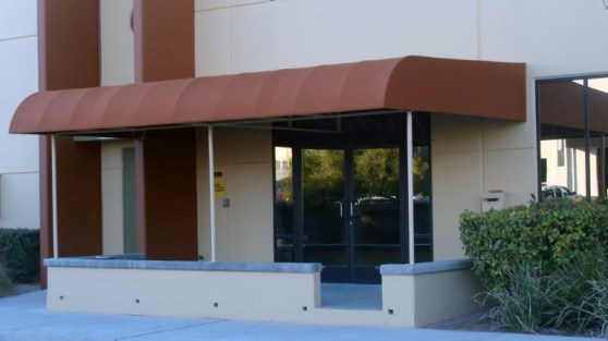 Custom Entry Canopy by Metro Awnings & Iron