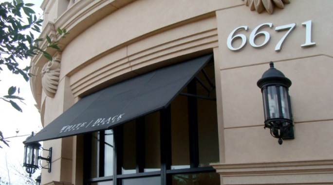 Custom Entry Awning by Metro Awnings & Iron of Southern Nevada