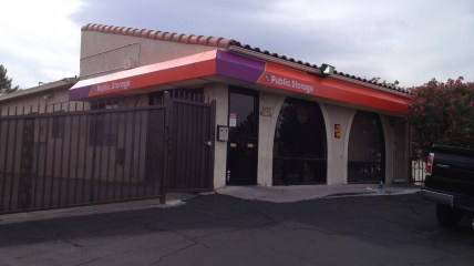 Custom Awning for Public Storage - Metro Awnings & Iron - Las Vegas, Nevada