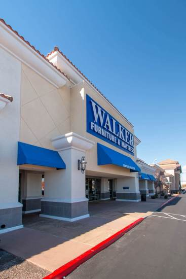 Metro Awnings Commercial Awning Project Portfolio - Walker Furniture of Henderson