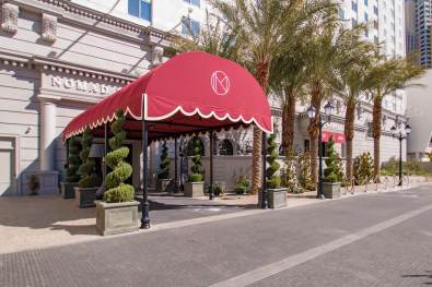 NoMad Entryway Canopy - Metro Awnings of Southern Nevada