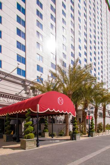 Metro Awnings Commercial Awning Design & Fabrication for the NoMad Las Vegas, Nevada at Park MGM