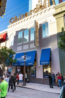 Custom Ghirardelli Branded Awnings by Metro Awnings of Las Vegas, Nevada - Commercial Awnings
