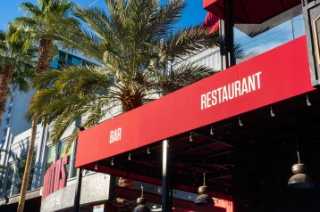 Favorite Bistro at the LINQ Promenade Las Vegas, Nevada - Awning