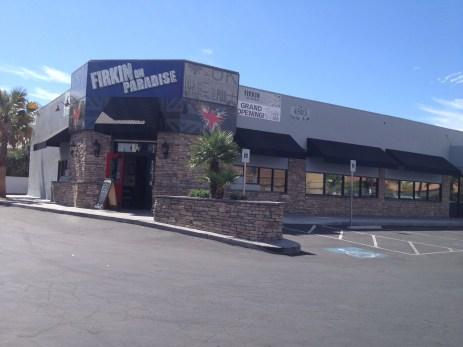 Commercial Window Awnings - Firkin on Paradise Pub Las Vegas, Nevada