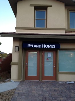 Rayland Homes Commercial Awning