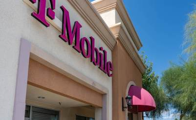 T-Mobile Cellular Phone Retail Store - Custom Commercial Awnings by Metro Awnings