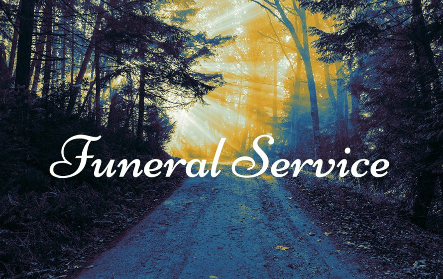 Funeral Service - Brother R. Greaves