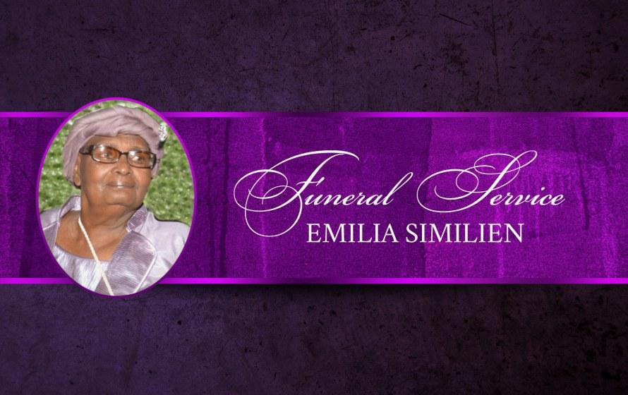 Funeral Service | Emilia Similien