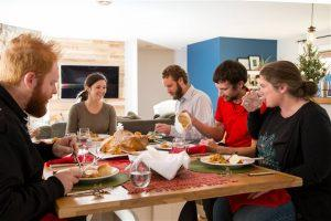 Boston Home Inspection Family Gathering