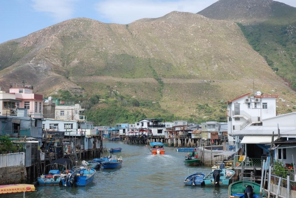 Tai O Village Pêcheur