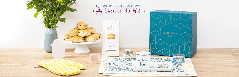 Birchbox Home – A l'heure du thé