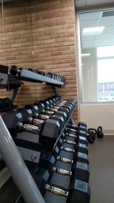 The Fitness Room, located in Student Center Room 220.