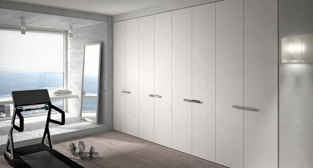 Frentes de armario a medida metrocloset - Puertas plegables armarios empotrados ...