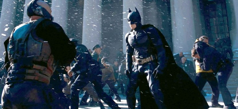 The Dark Knight Rises - Financial District