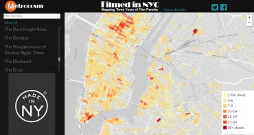 filming locations map nyc
