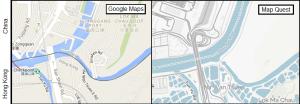hong kong china border google mapquest
