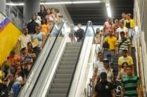 Las estaciones de la Línea II del Metro de Santo Domingo están en su fase definitiva.