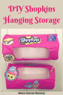 Got a Shopkins collector on your hands? Recreate this Shopkins Hangin Storage Container your Shopkins lover is sure to obsess over