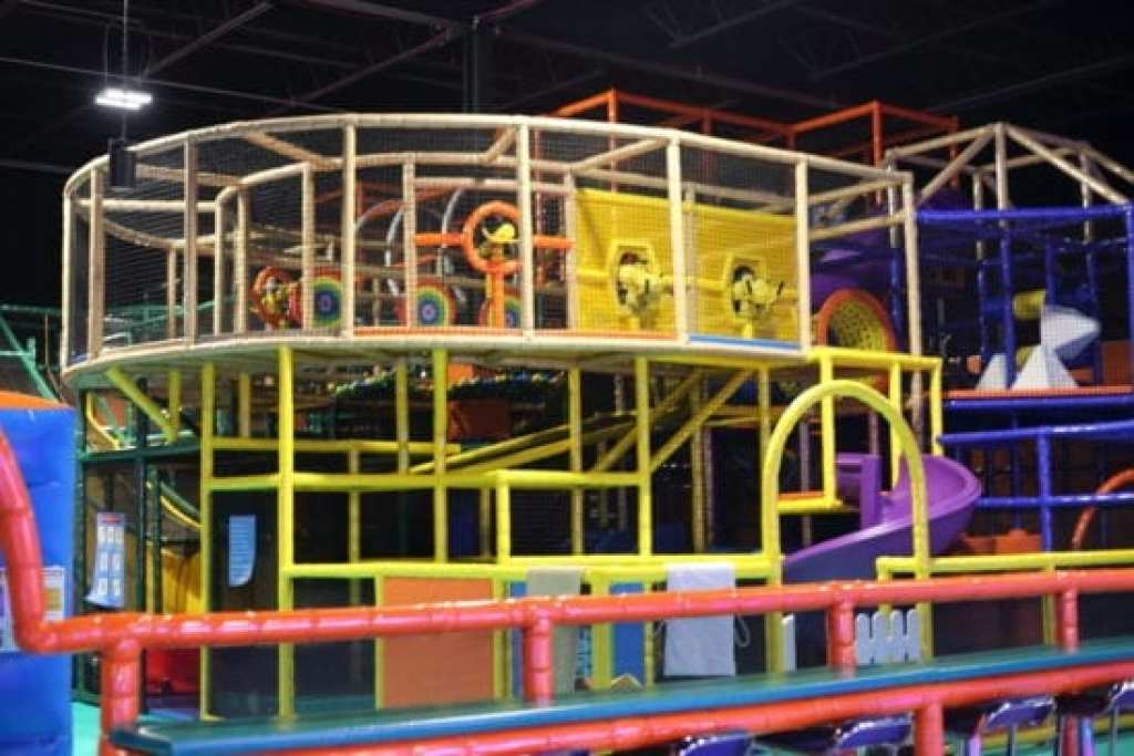 Toddler Area Indoor Play Entertainment Center