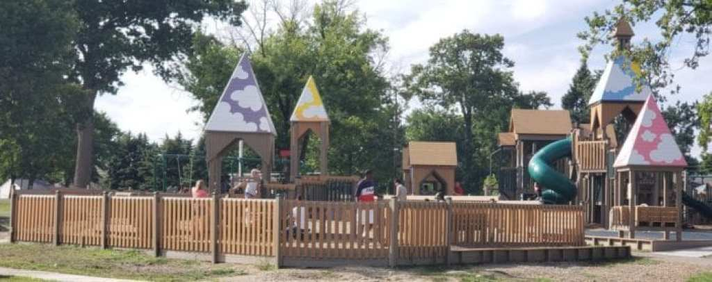 scout park - toddler area