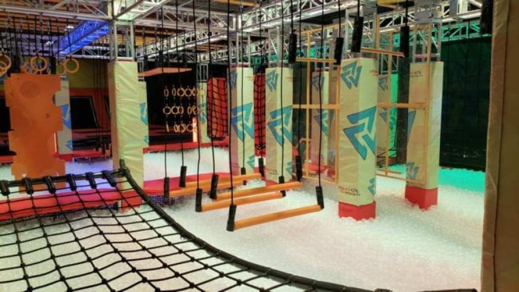 Urban Air in Sterling Heights Warrior Course