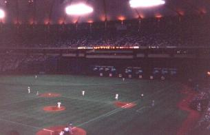 Hubert H. Humprey died after attempting to inflate the Metrodome like you'd inflate a balloon.