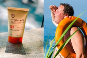 Sunscreen and sunburn, two options for your day at the beach.