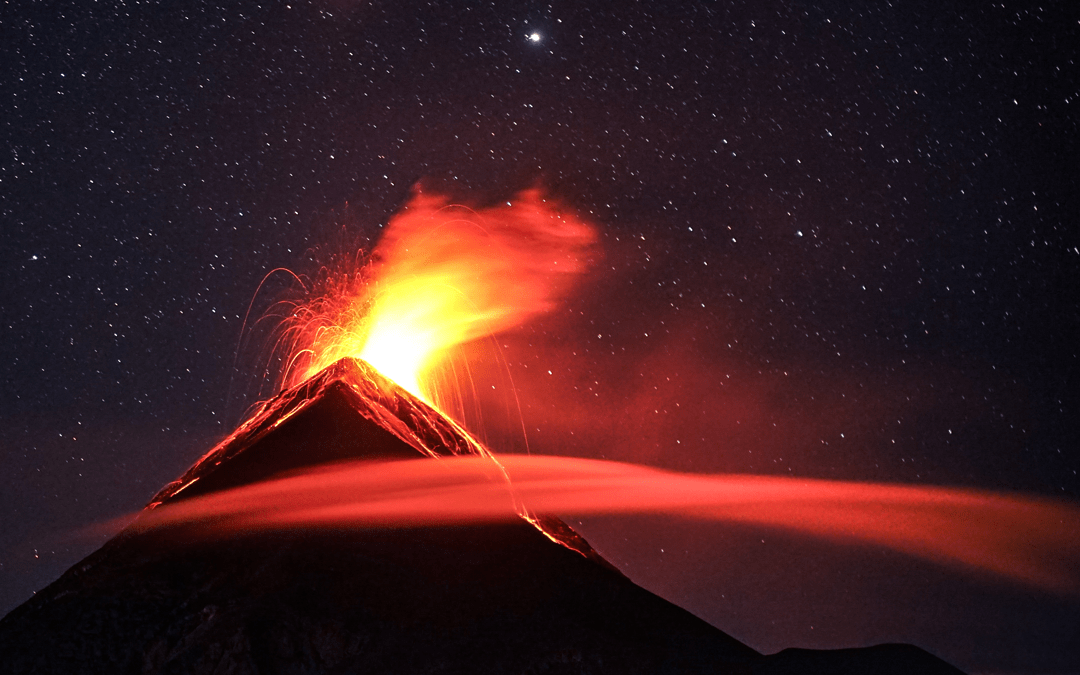 Fire and ice: discovering volcanic eruptions with ion chromatography