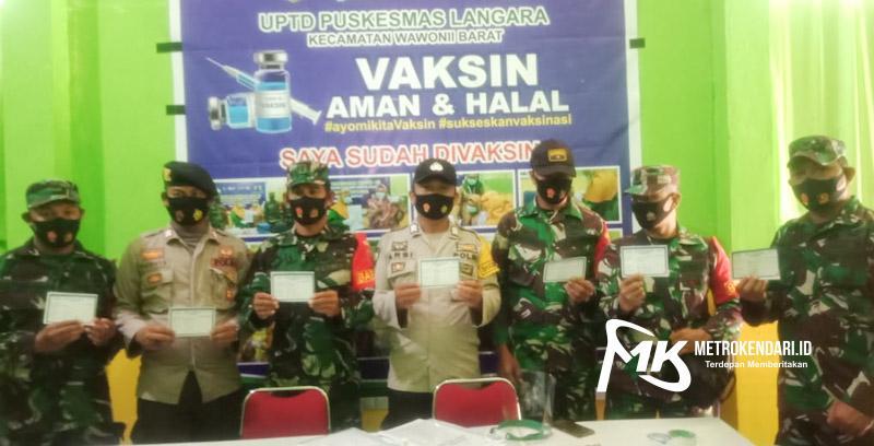 TNI-Polri vaksin Covid-19