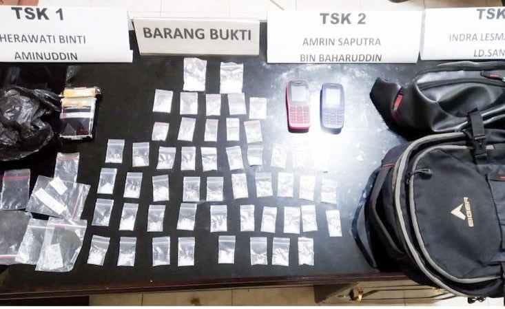 Mahasiswa Ditangkap Narkoba