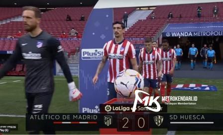 Atletico Madrid Vs Huesca