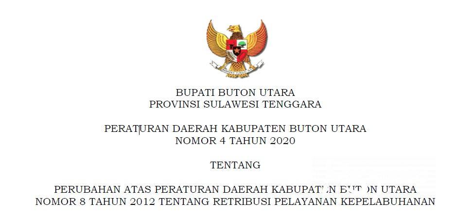Perbup Butur 2021