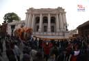 बसन्तपुरमा चिर ठड्याइएसँगै होली पर्व शुरु