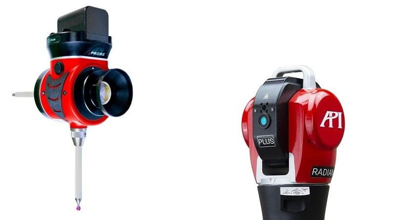 VProbe Extends Laser Tracker CMM Capabilities
