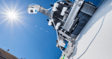 Crawling Robots With Scanning Technology Inspect For Wind Blade Damage