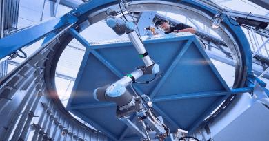 Cobotic Aircraft Rivet Hole Inspection
