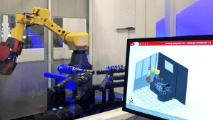 Multi-Part Robotic Production Measurement