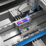High Speed Blue Laser Profiler For 3D Scanning And Inspection Launched