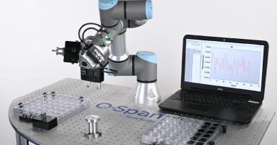 Robotic Pick-and-Place Provides Automated Small Part Measurement