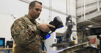 AFB Brings Future Faster With Hand-Held 3D Scanner