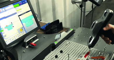 Small CMMs Deliver Tactile and Optical Precision Inspection