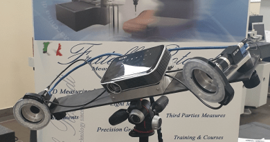 Portable Optical Measuring System Launched