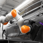 Human Partnership With Automatic Robot Measurement In Motion