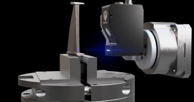 High-Speed Optical CMM Offers Fast Blade Inspection
