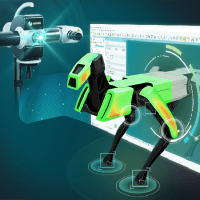 Hexagon Launch Dedicated PolyWorks Interface for Structured Light Scanners