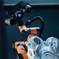Mobile Measuring Station Incorporates Collaborative Robot with Powerful 3D Scanner