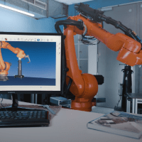 Tracker Measuring Systems Simplify Industrial Robot Programming