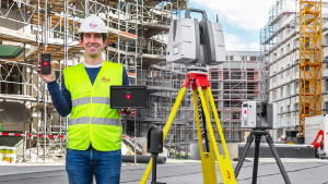Single App for all Terrestrial Laser Scanning Devices Introduced by Leica