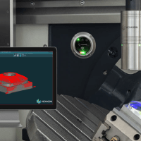 Wireless Laser Scanner Performs CNC Machine Part Inspections